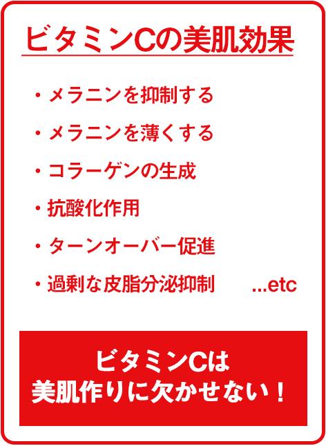 イオンエフェクター おすすめビタミンC化粧水